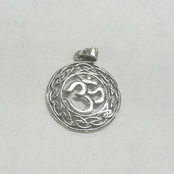 Jewelry Sterling Silver Celtic Om Symbol Pendant Poshmark